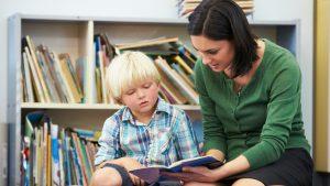 Teacher-reading